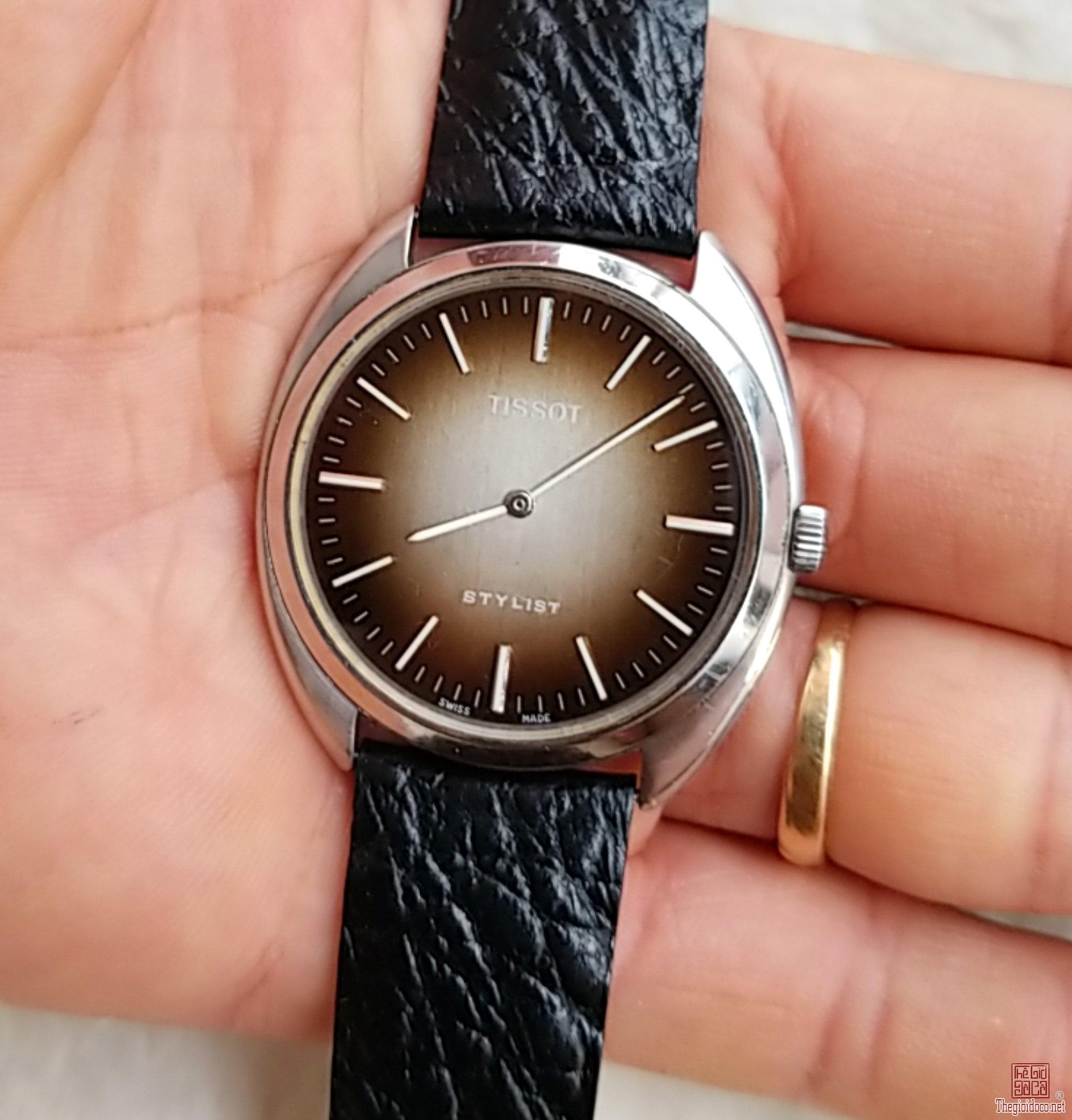 Đồng hồ xưa lên dây TISSOT Thụy Sỹ