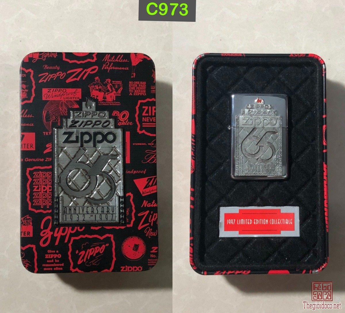 C973- zippo coty  32-97 ---65 Th Anniversary