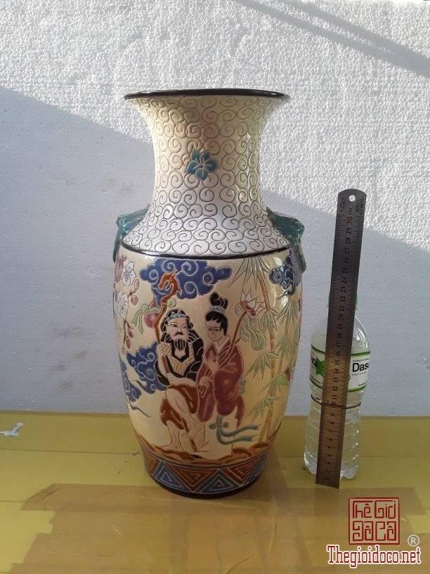 Bình gốm Biên Hoà Tích người-MS182