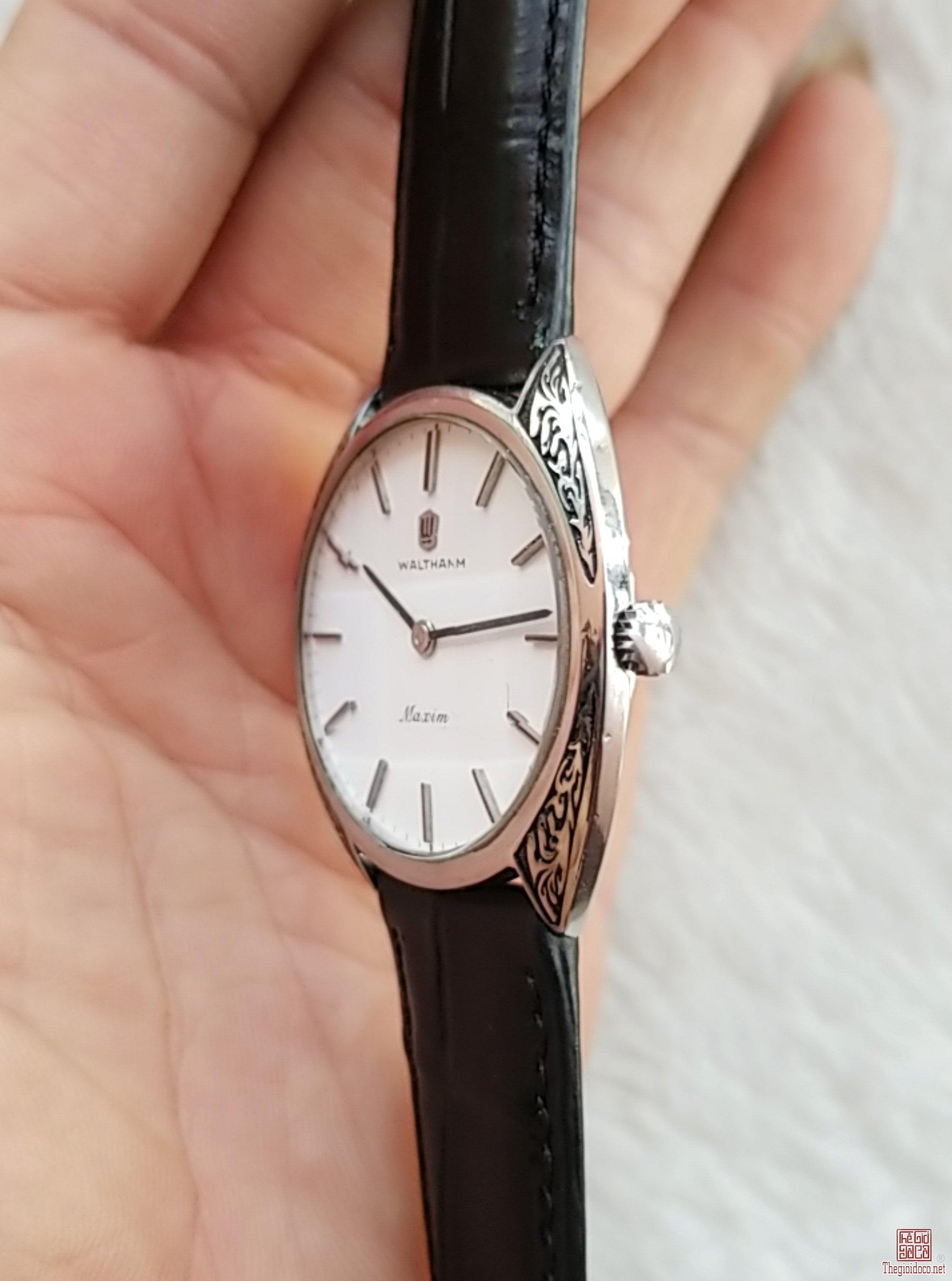 Đồng hồ xưa lên dây WALTHAM Thụy Sỹ