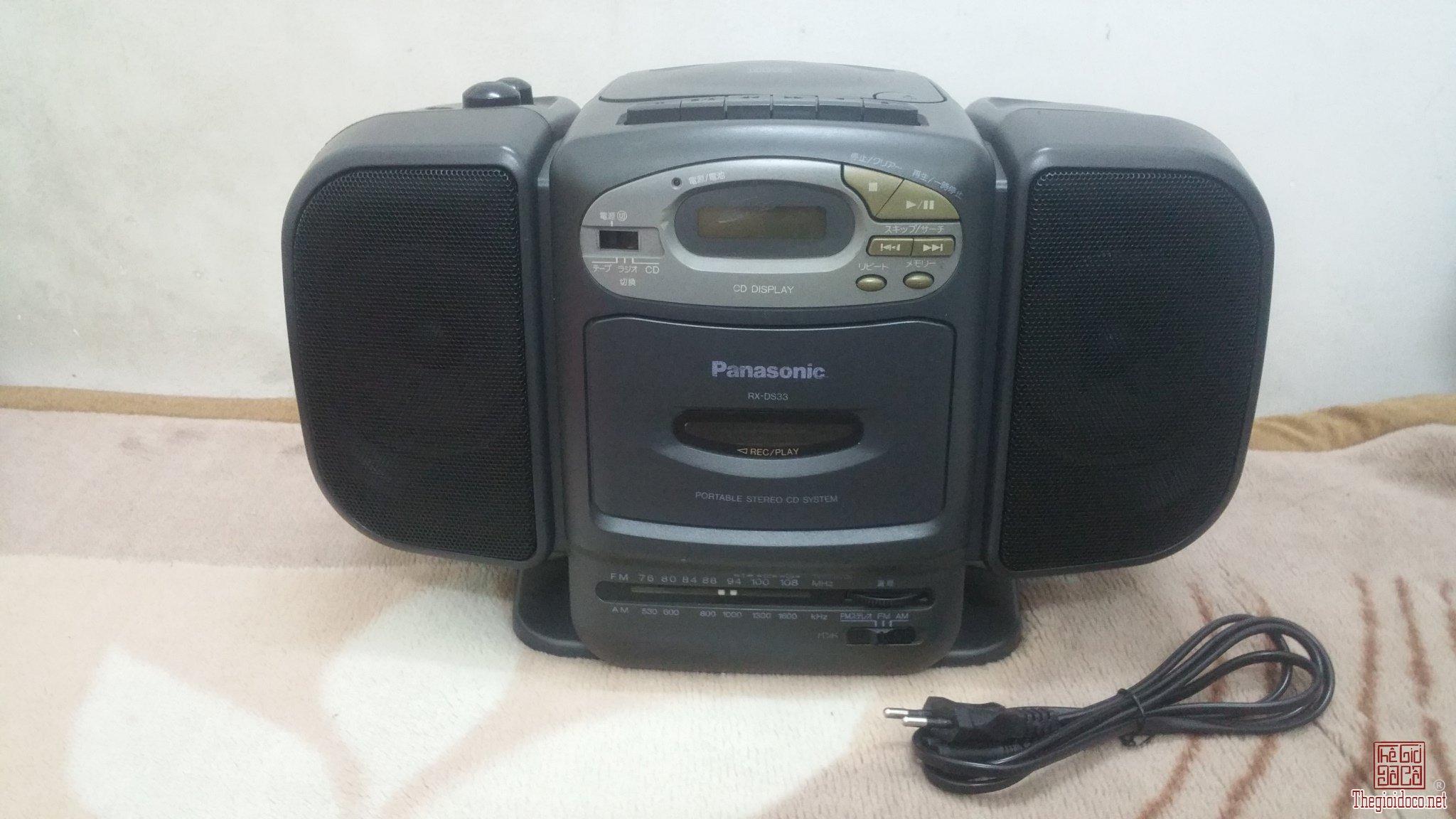 Đài nghe Radio Panasonic RX-DS33