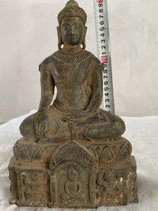Siêu phẩm tượng Phật quý hiếm...
