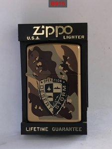 B915 -zippo sơn tĩnh điện camo...