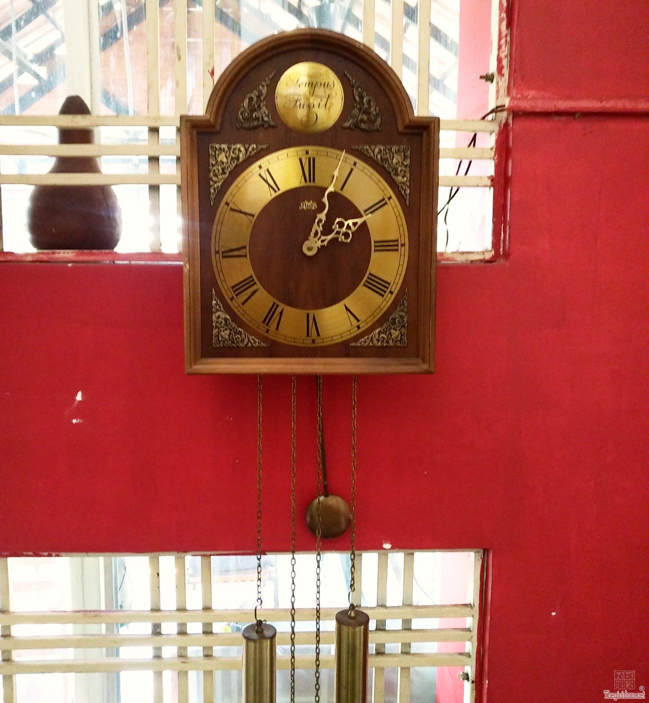 Đồng hồ cổ 2 tạ khúc của Đức , hàng nguyên bản