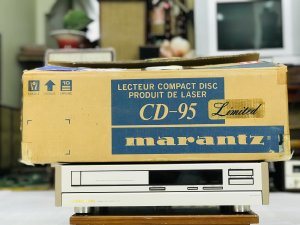CD marantz 95 Limited máy đẹp...