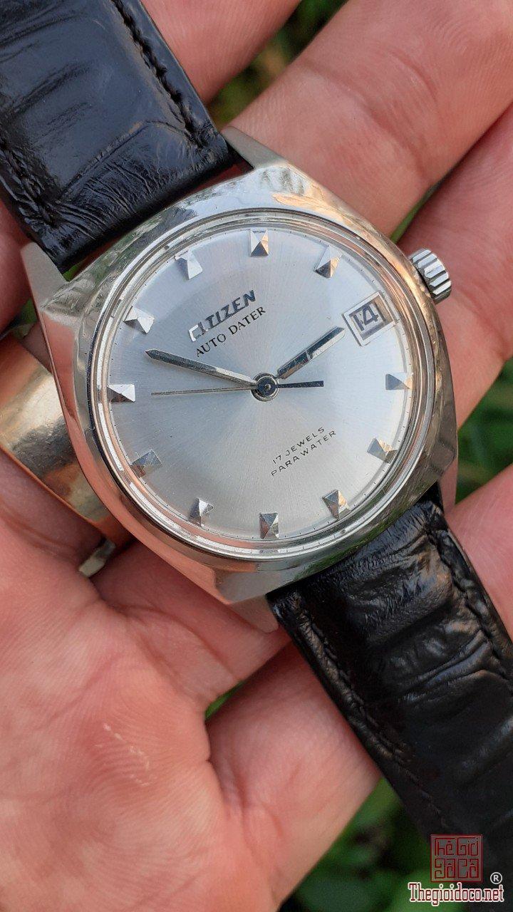 Đồng hồ CITIZEN máy găng cưa cổ điển