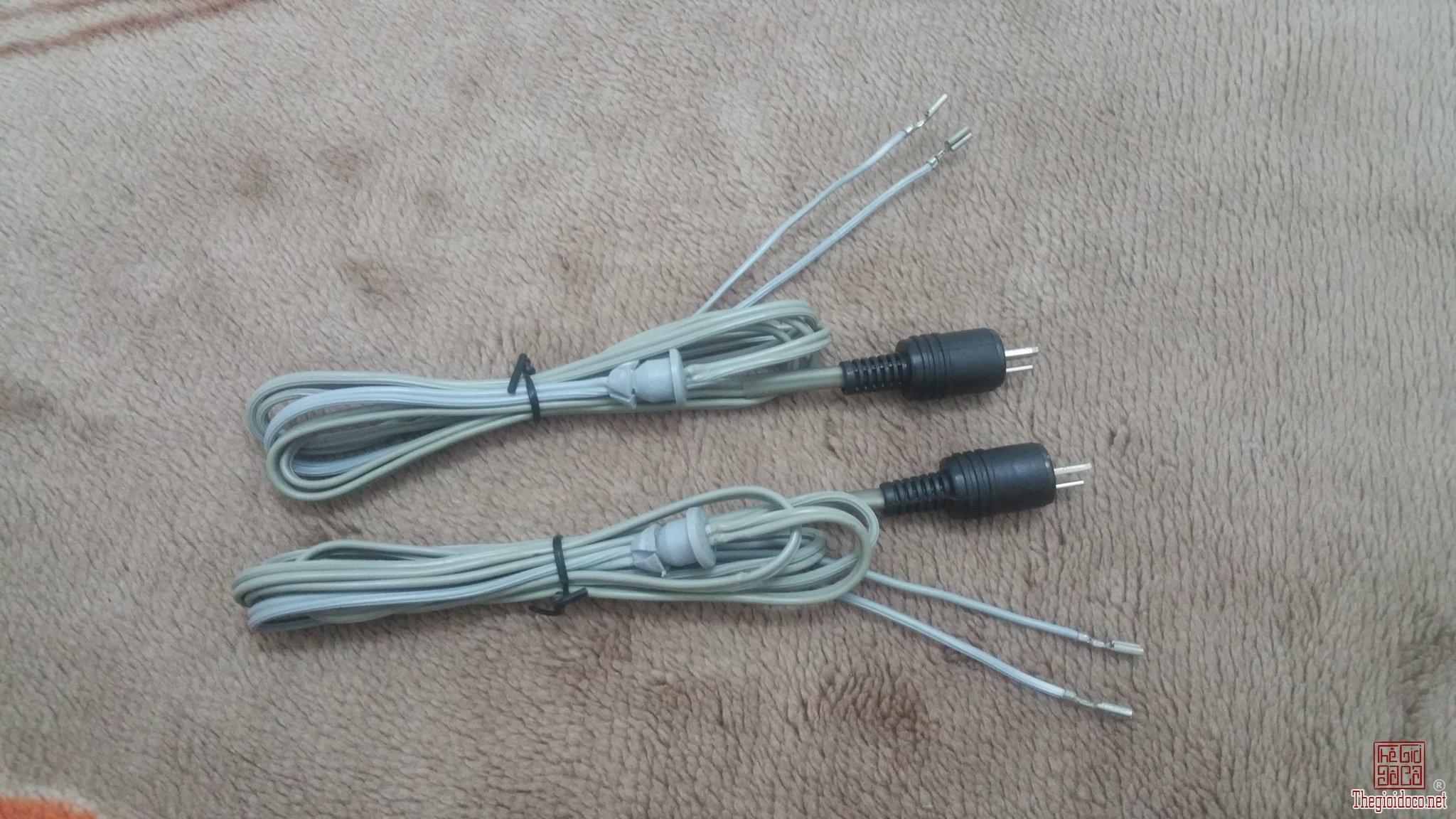 Cặp dây loa Tây Đức đẹp xuất sắc - Dài 150 cm