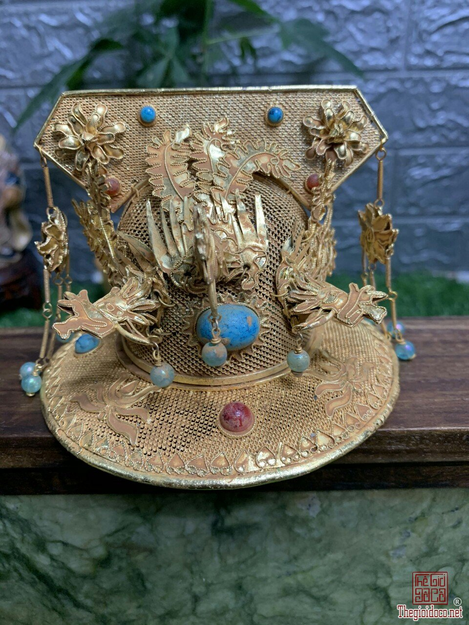 Mũ hoàng hậu độc lạ quý hiếm hàng rất hiếm