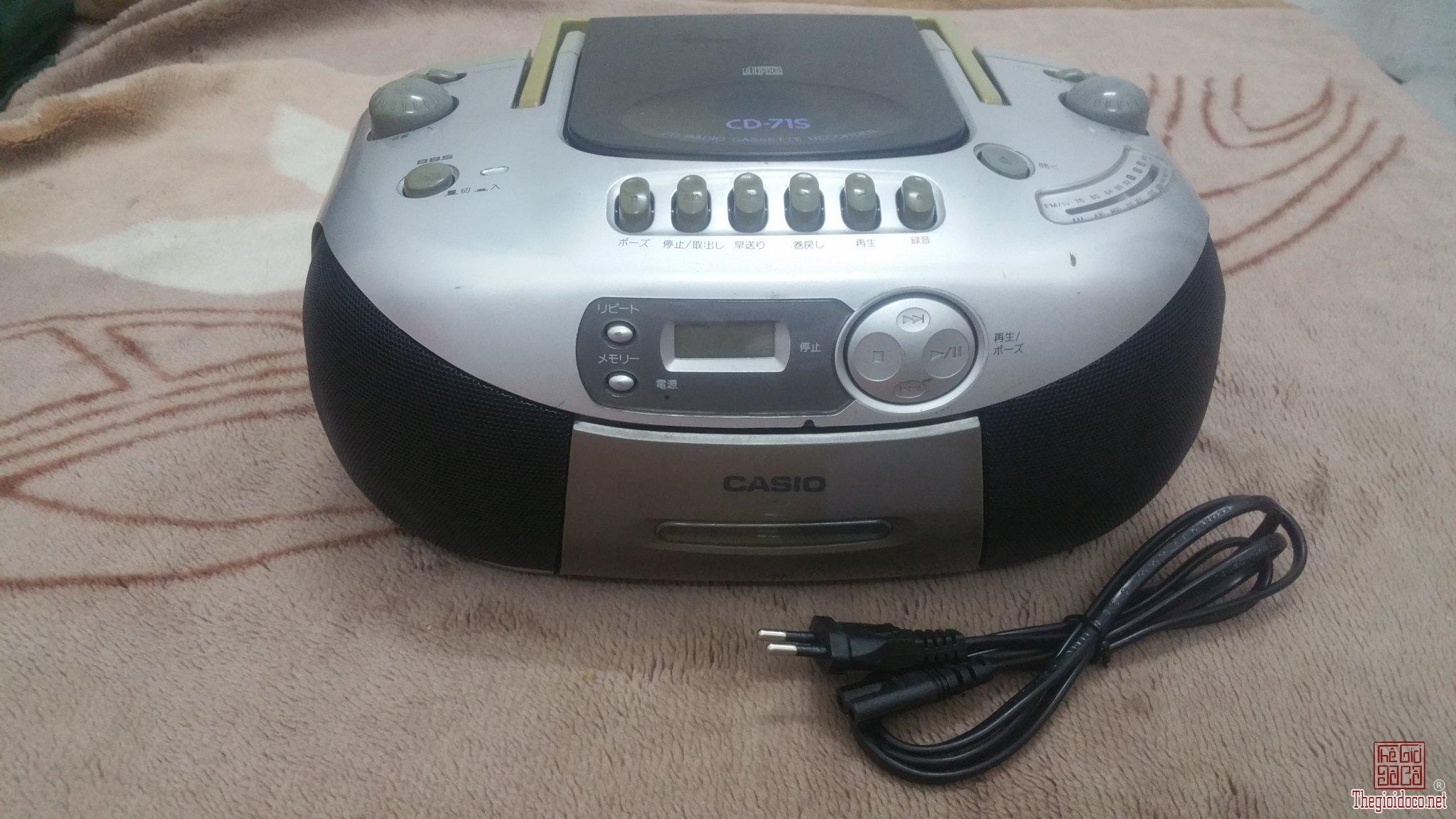 Đài Casio CD - 71s (Dành cho...