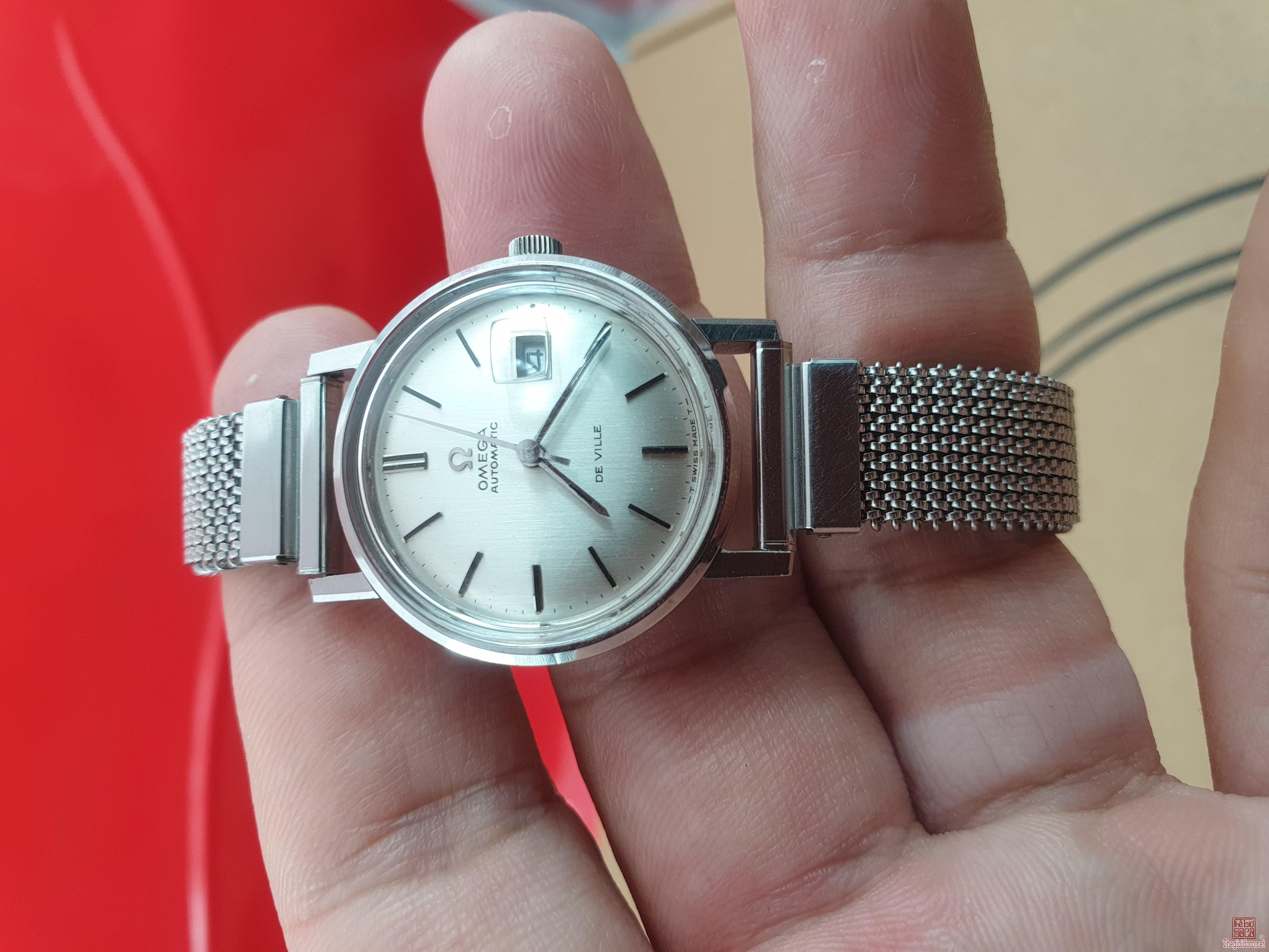 Đồng hồ Omega Deville nữ xưa chính hãng thụy sỹ