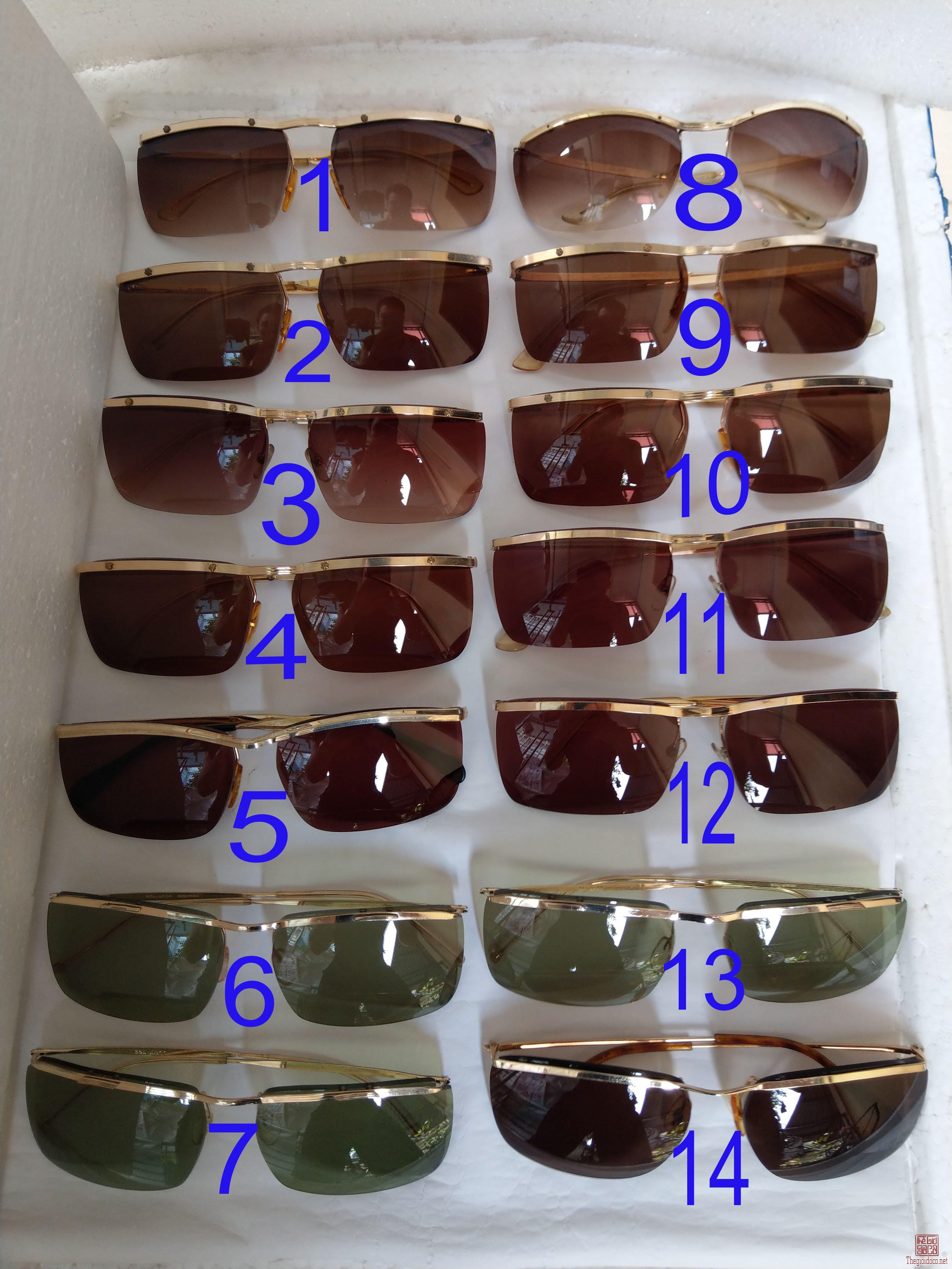 Giàn kính cổ mạ vàng bọc vàng có đầy đủ các thương hiệu nổi tiếng trên toàn thế giới ..vv