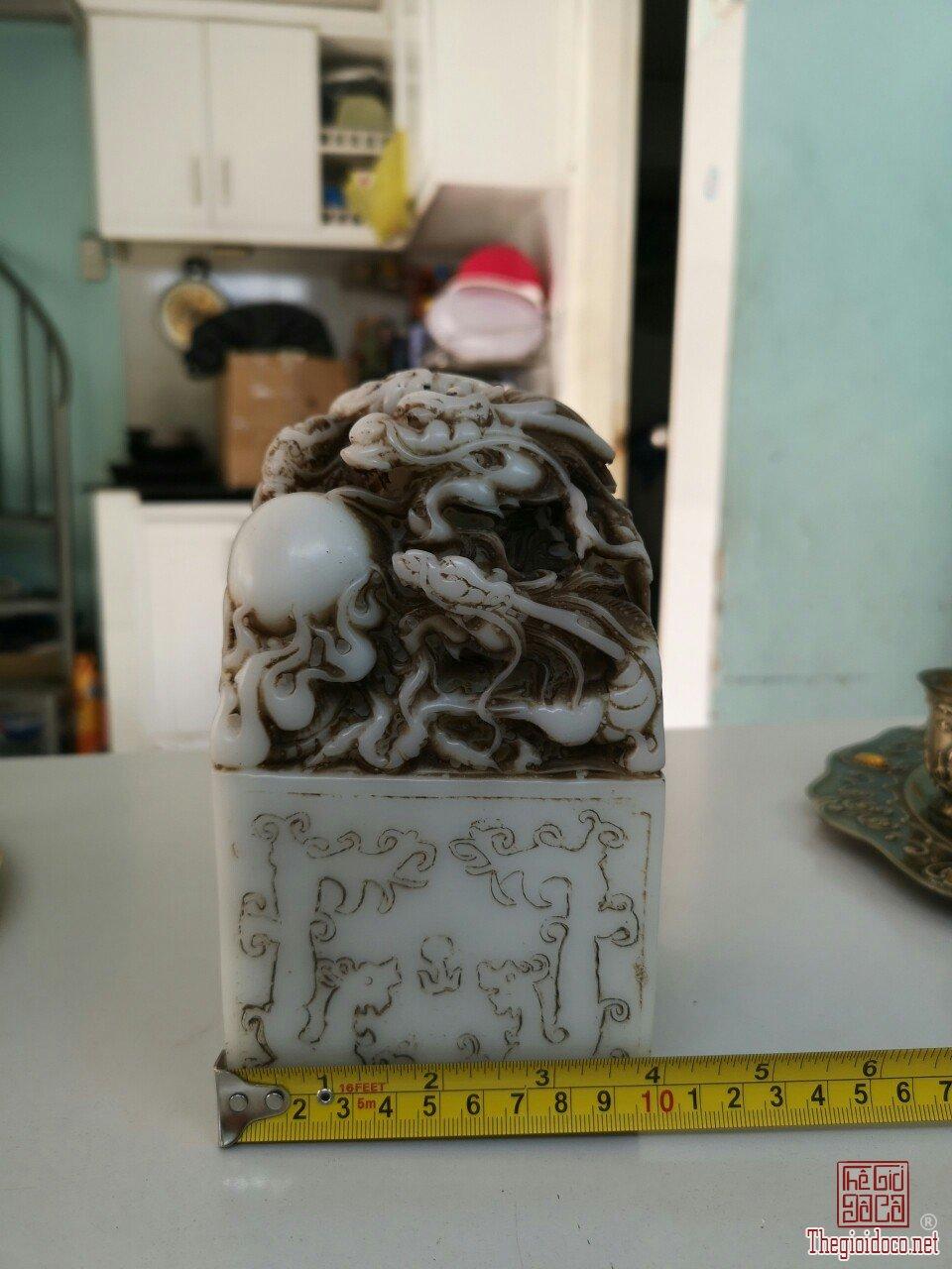 Ấn Rồng hàng hiếm hoa văn tinh xảo giá mềm