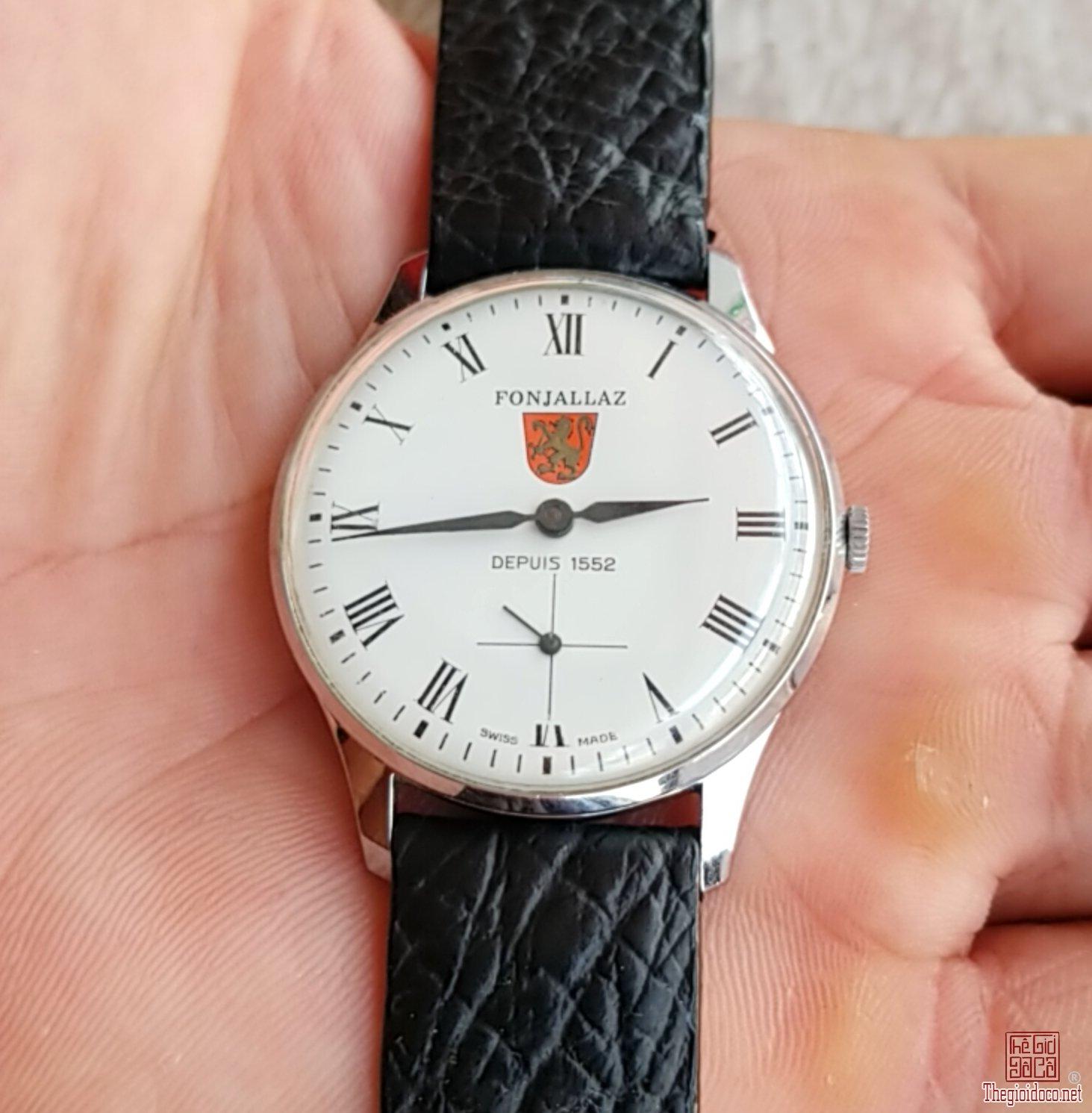 Đồng hồ xưa lên dây FONJALLAZ Thụy Sỹ
