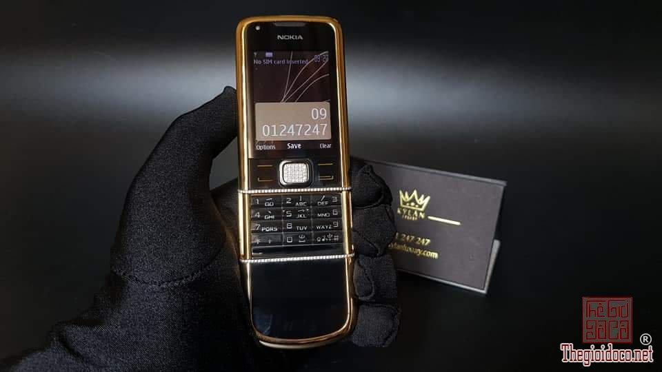 Nokia 8800 Diamond gold arte siêu sang