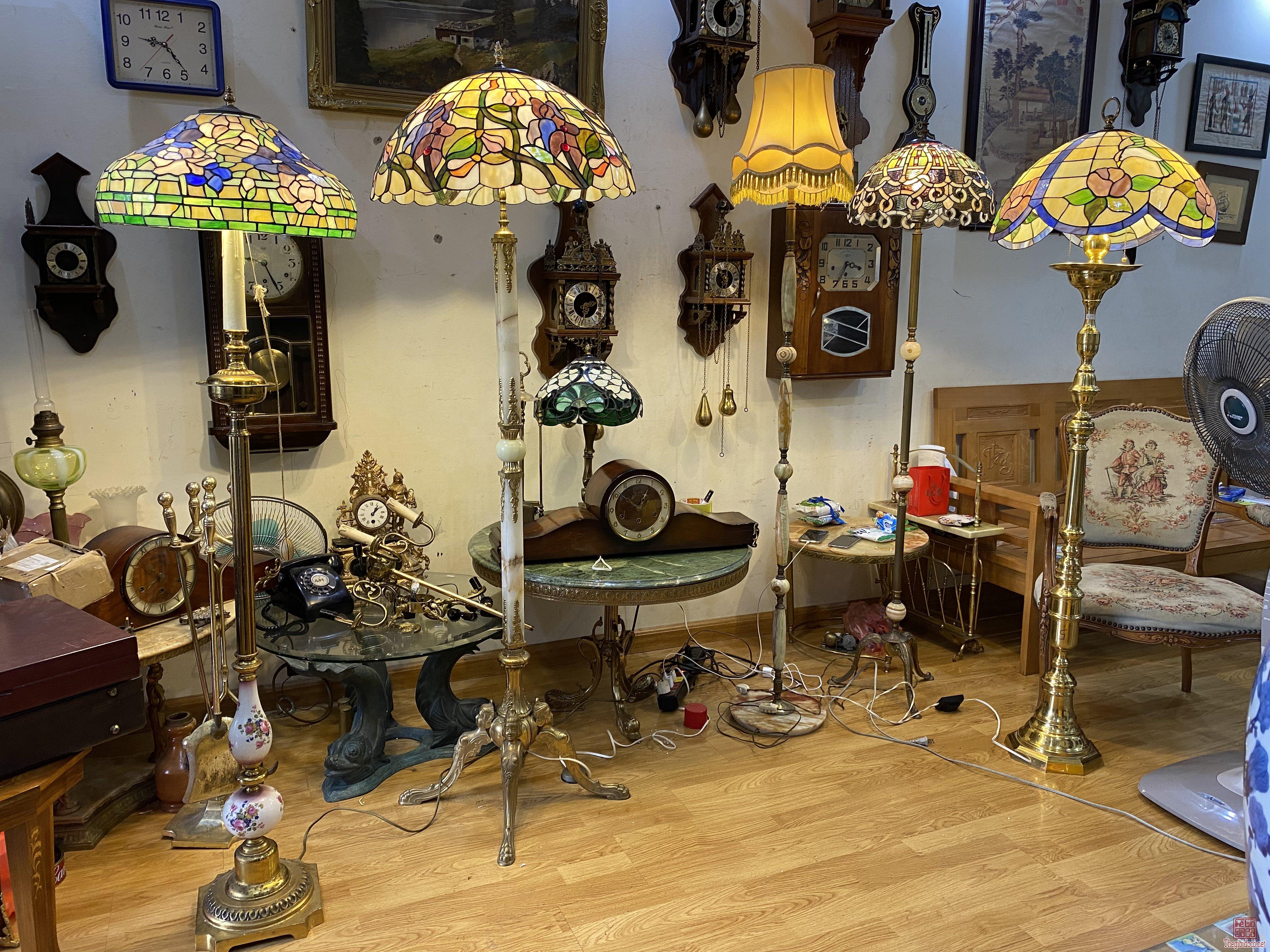 Đèn Tiffany các mẫu của Châu Âu. Giá cả hợp lý