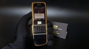 Nokia 8800 Diamond gold arte...
