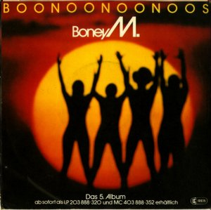 Bán 3 đĩa than 45 vòng - Boney...