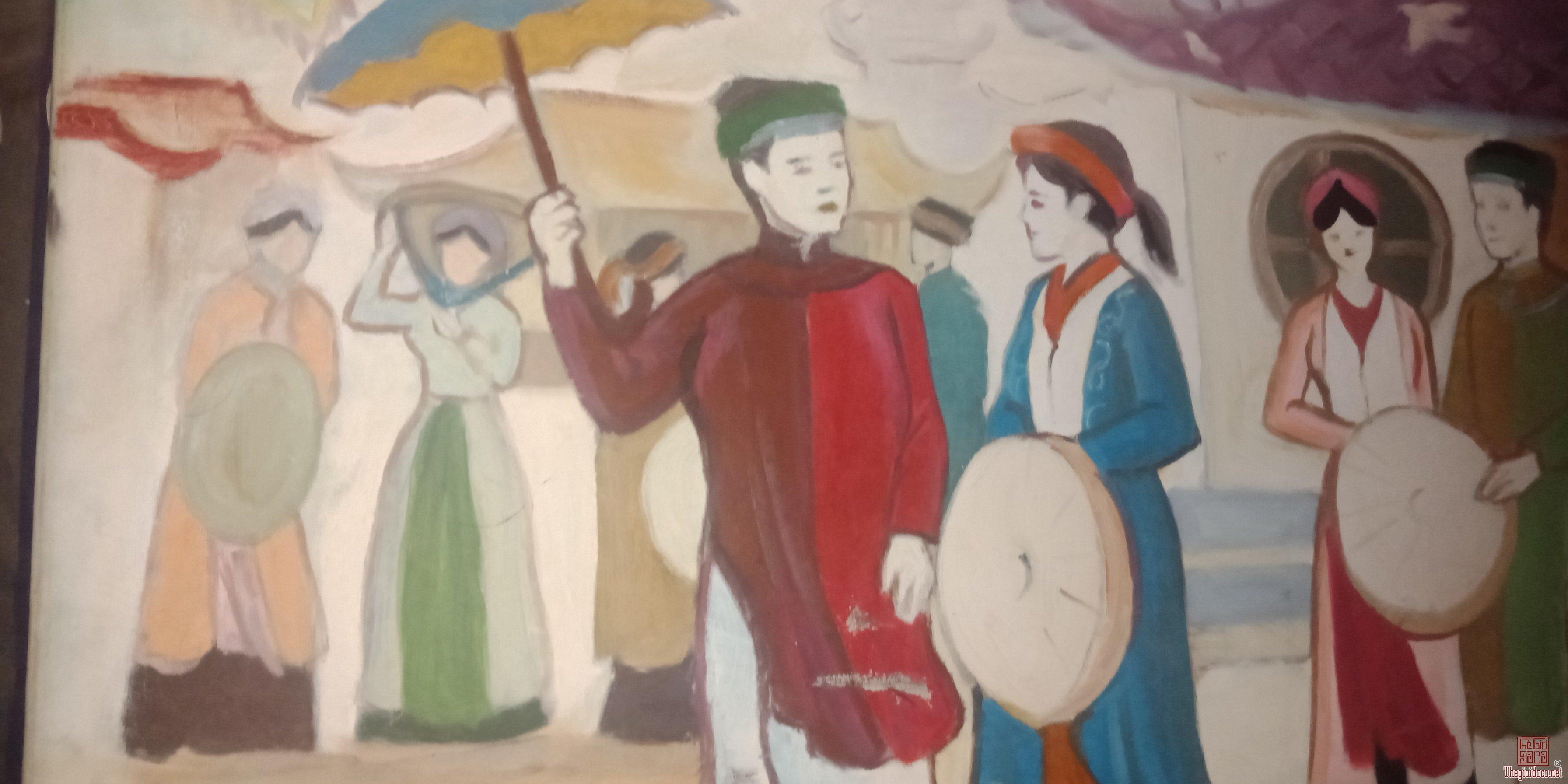 Tranh Sơn dầu Hội Lim