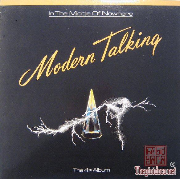 Đĩa than LP - Modern Talking 1986 - The 4rd Album (Đĩa và bìa mới 99%)