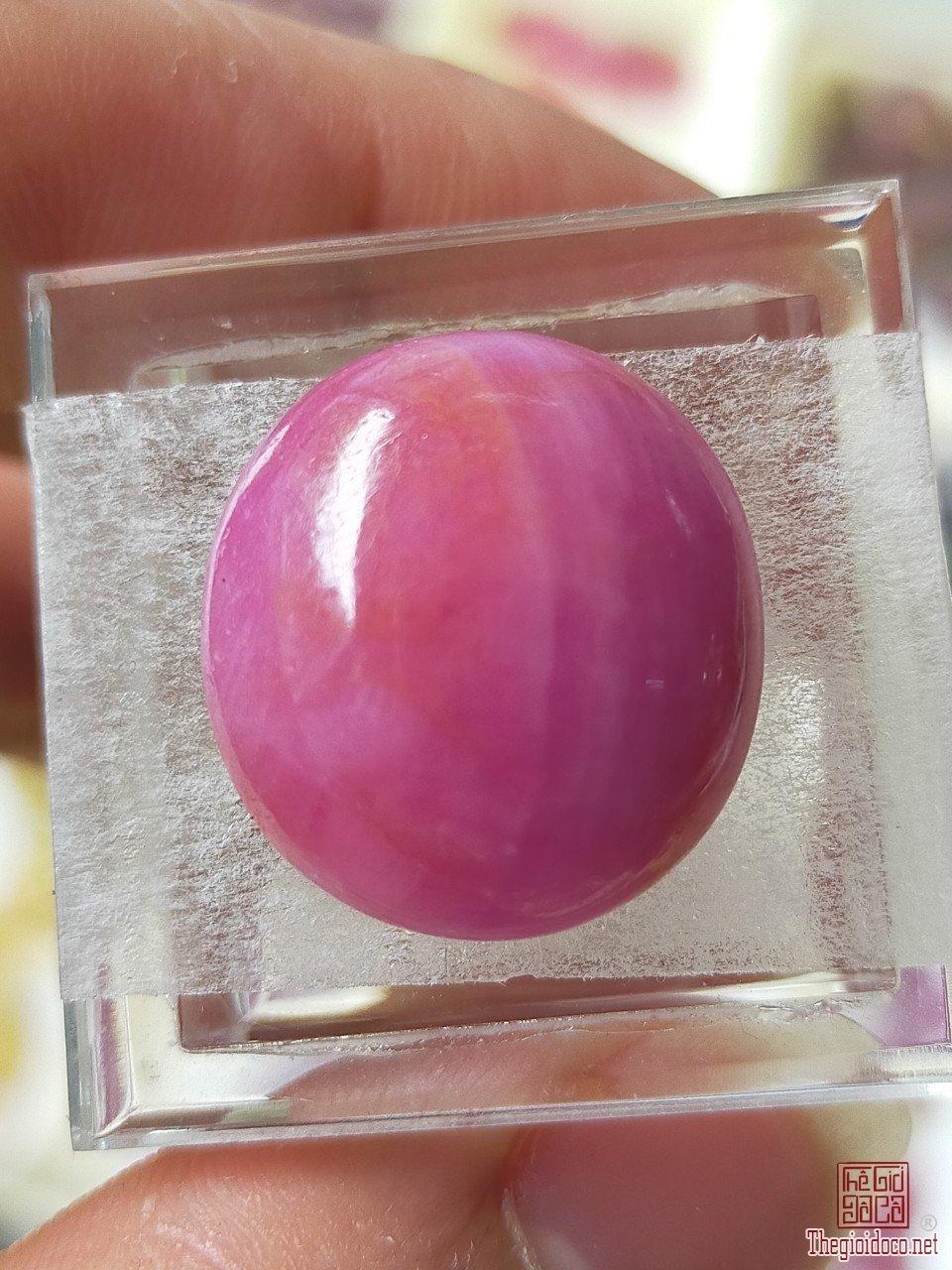 Ruby lục yên khổng lồ quý hiếm 32ct lên nhẫn nam rất đep