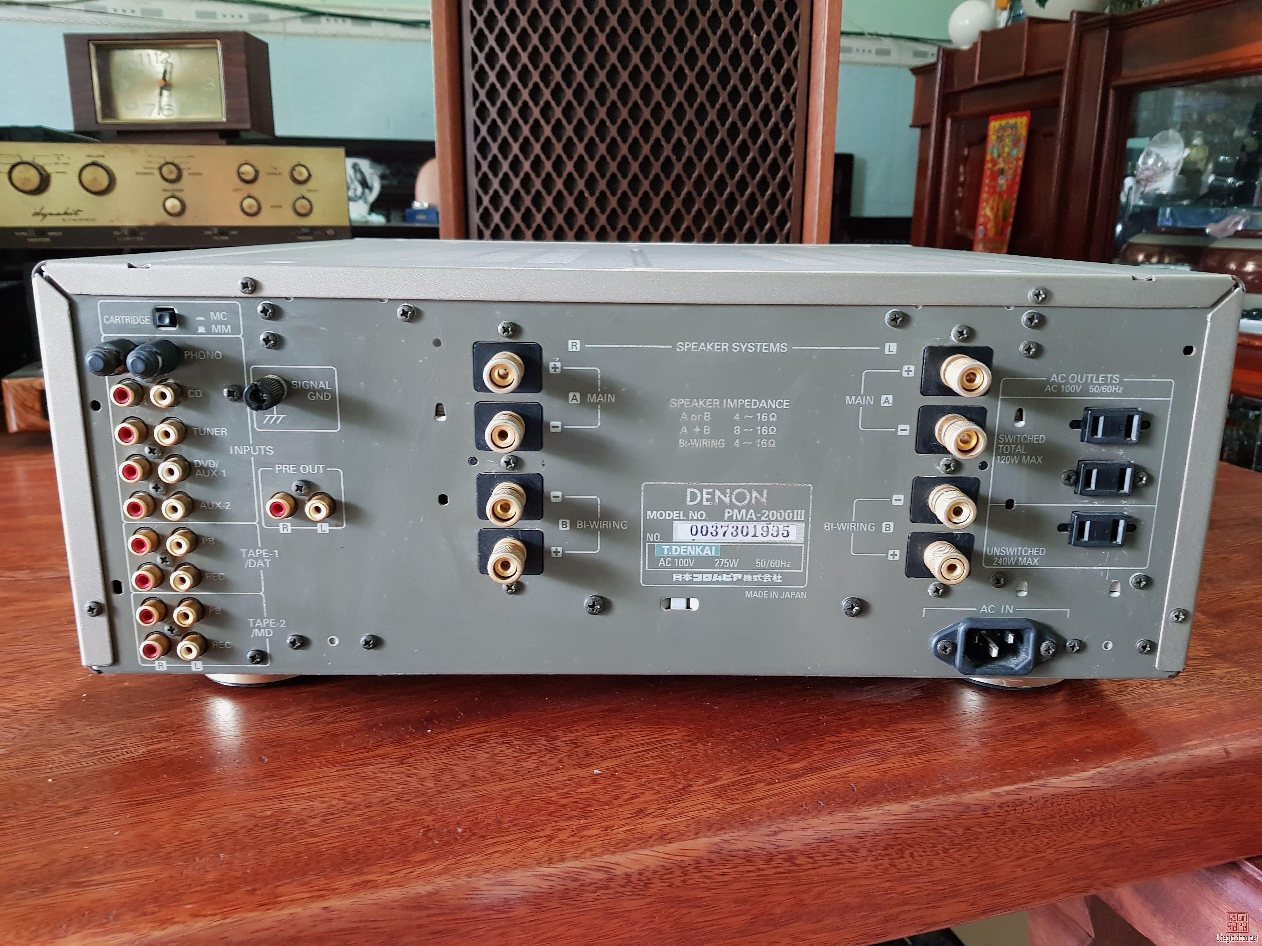 Ampli Denon PMA-2000III