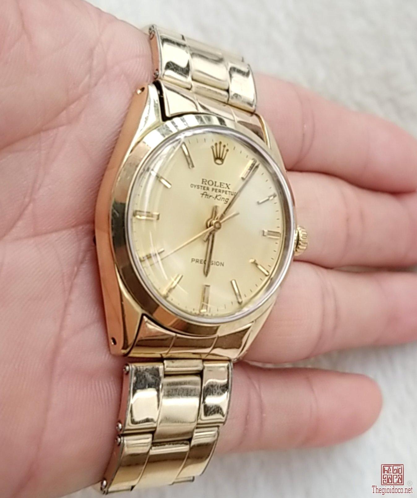 Đồng hồ xưa tự động Rolex Air- King 1520