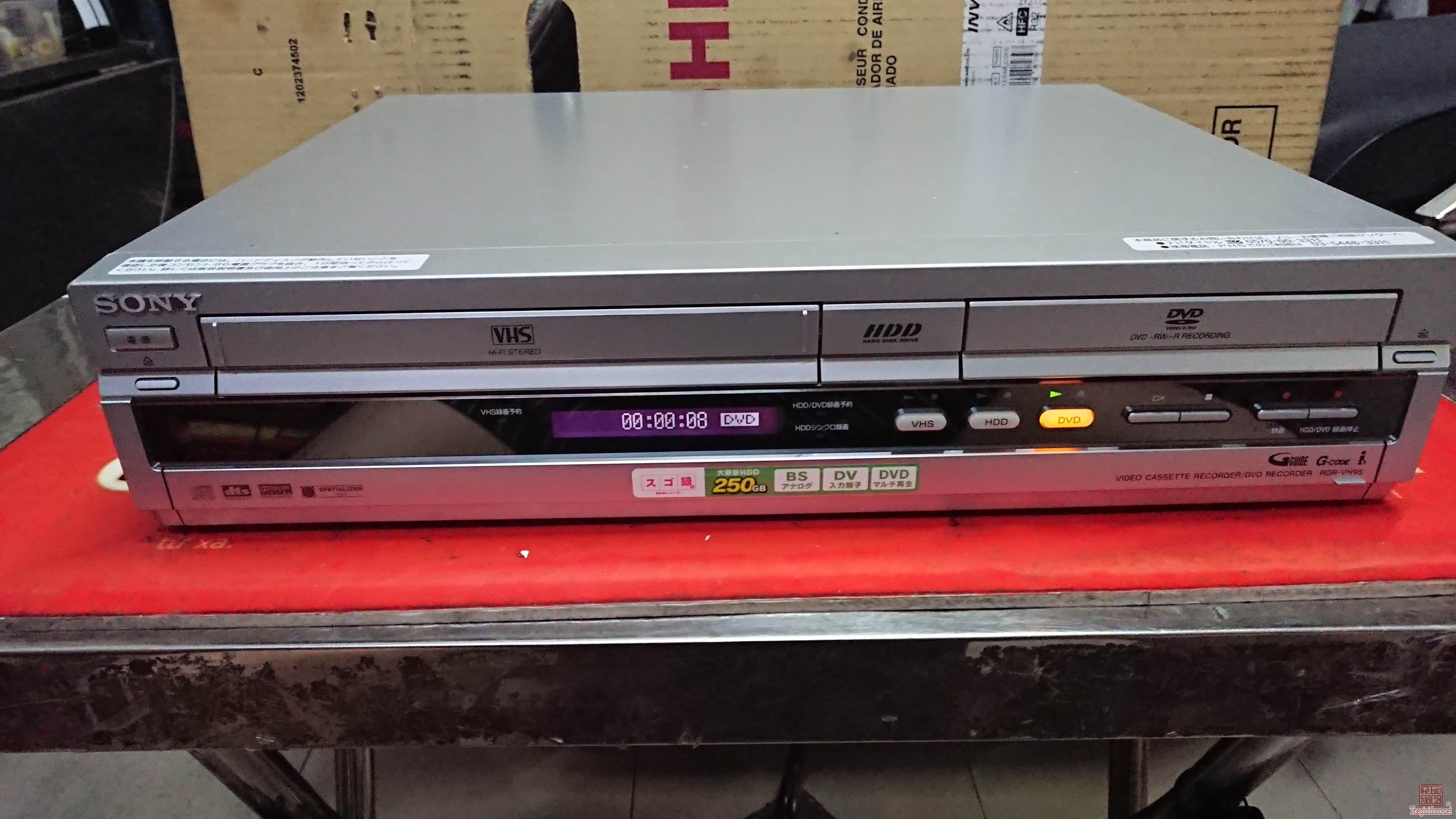 Đầu Sony 3 trong 1 hàng hiếm rất đẹp