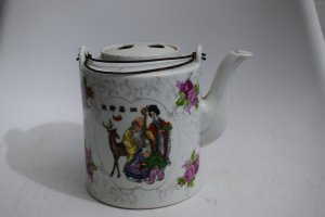 Bình trà Nhật đẹp lành