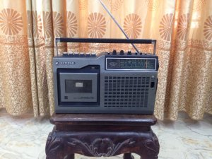 Radio casette national RQ-448...