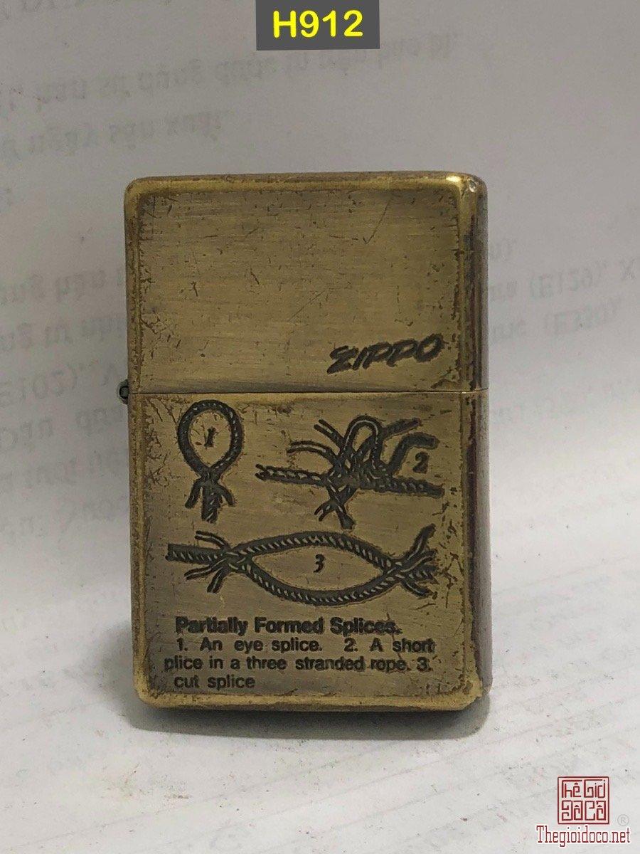 H912 -antique brass vintage(mạ đồng giả cổ )1991