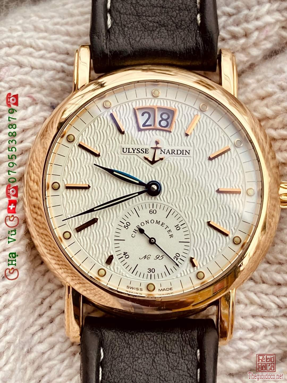 Đồng hồ tự động ULYSSE NARDIN LIMITED 95/100 18K GOLD  Thụy Sỹ