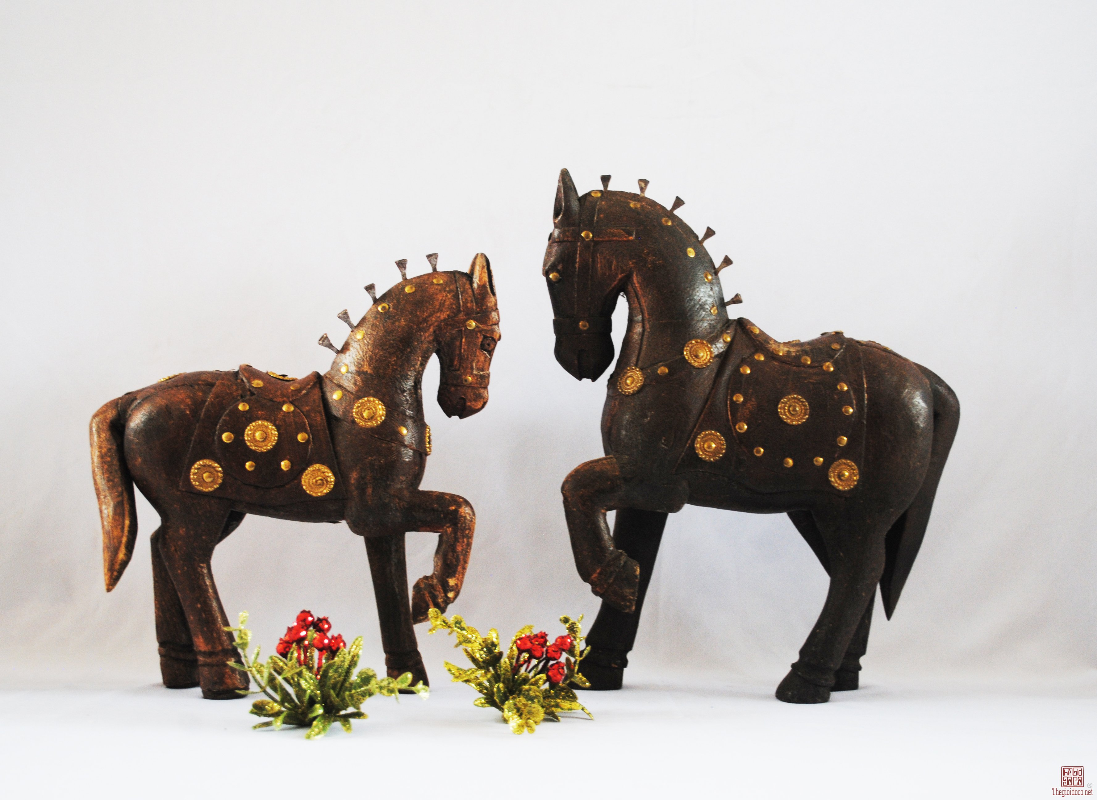 Cặp ngựa trang trí của Ấn Độ
