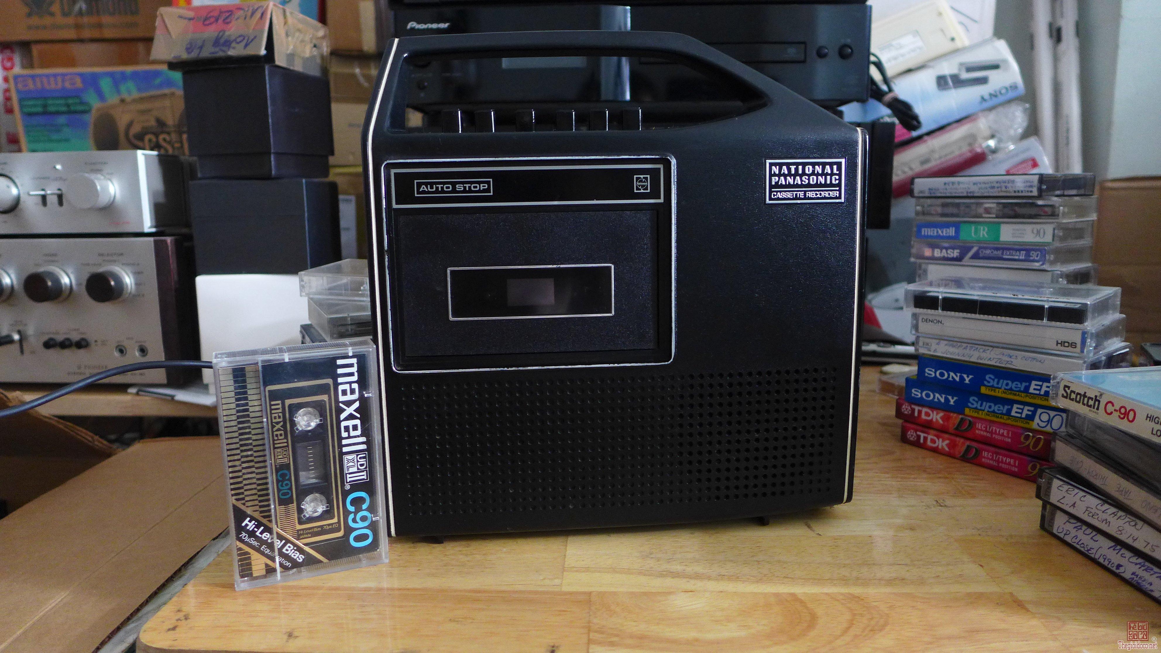 HCM - Q10 - Bán cassette Mono National Panasonic RQ-224S