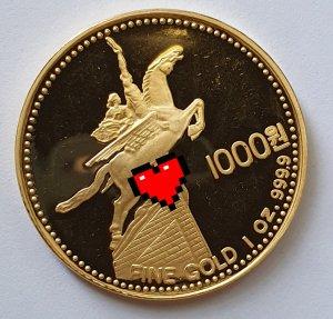 Tiền vàng Triều Tiên