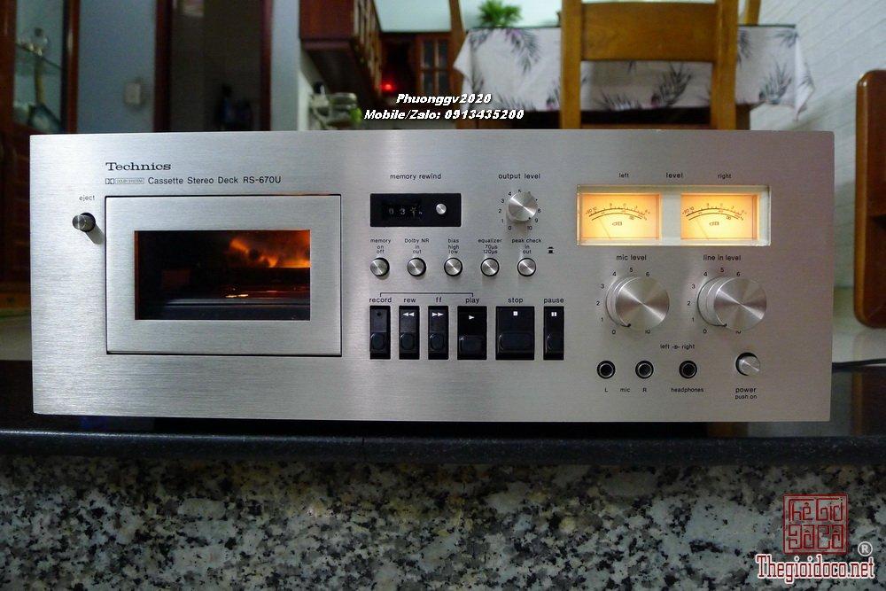 TECHNICS RS-670U