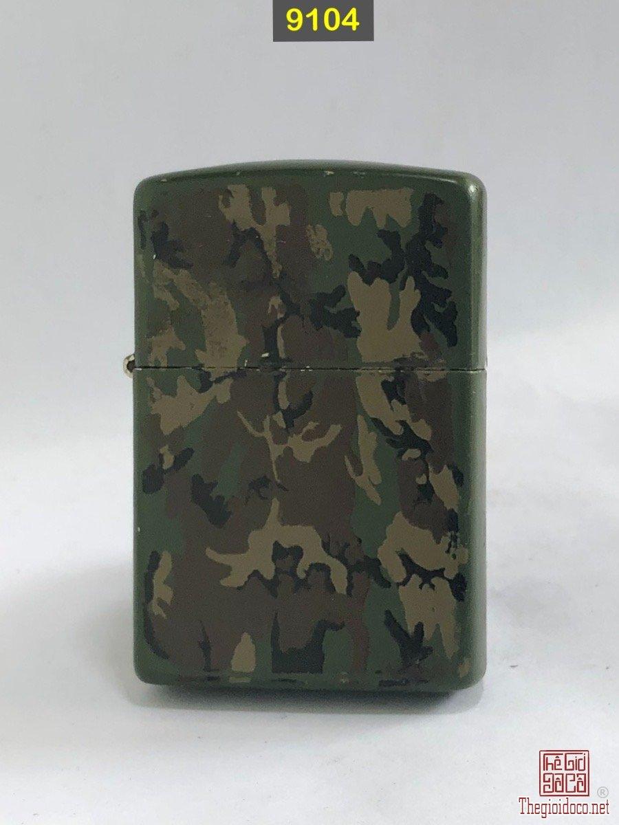 9104-zippo camouflage 1991 -