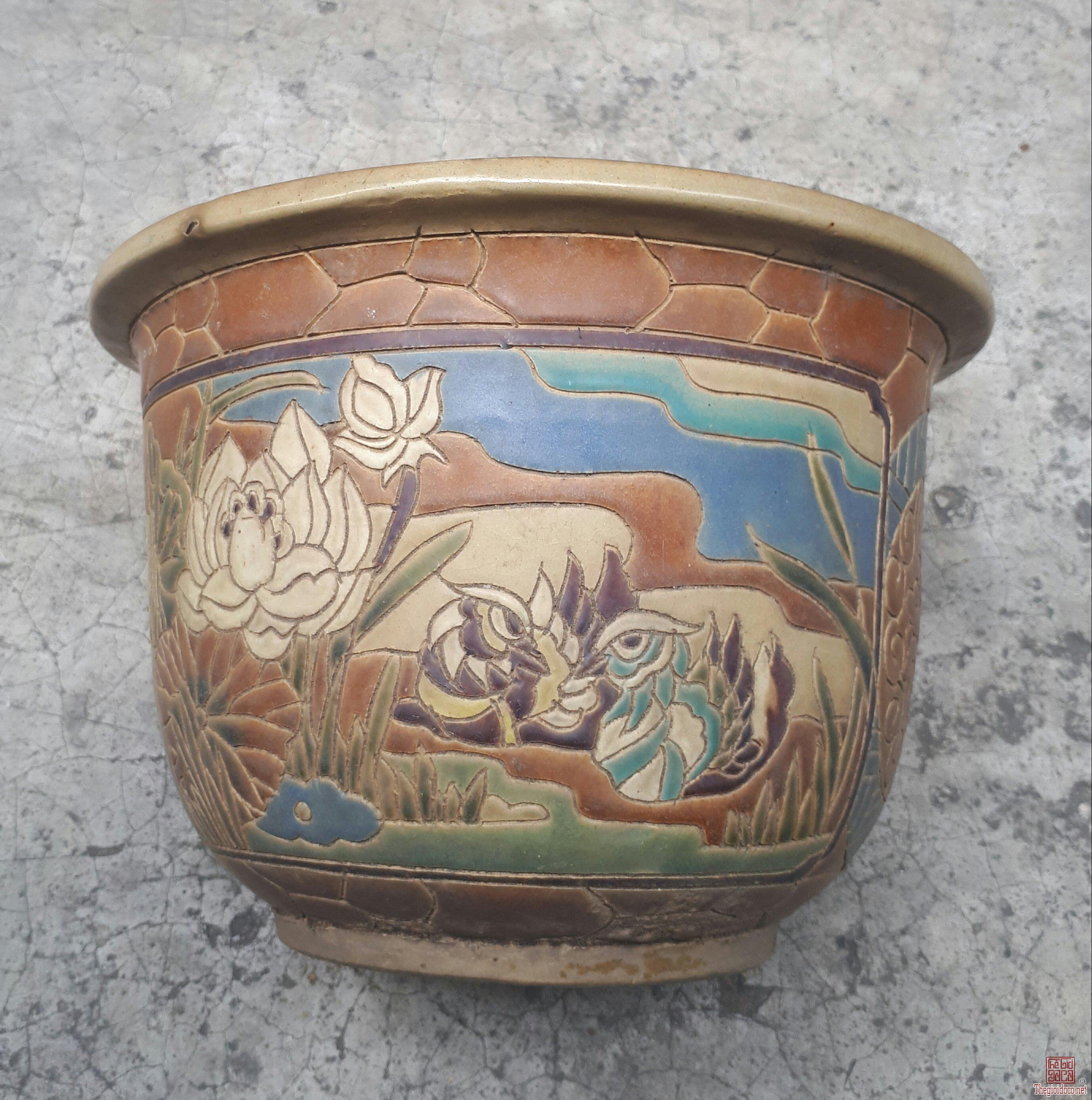 chậu Biên Hòa xưa