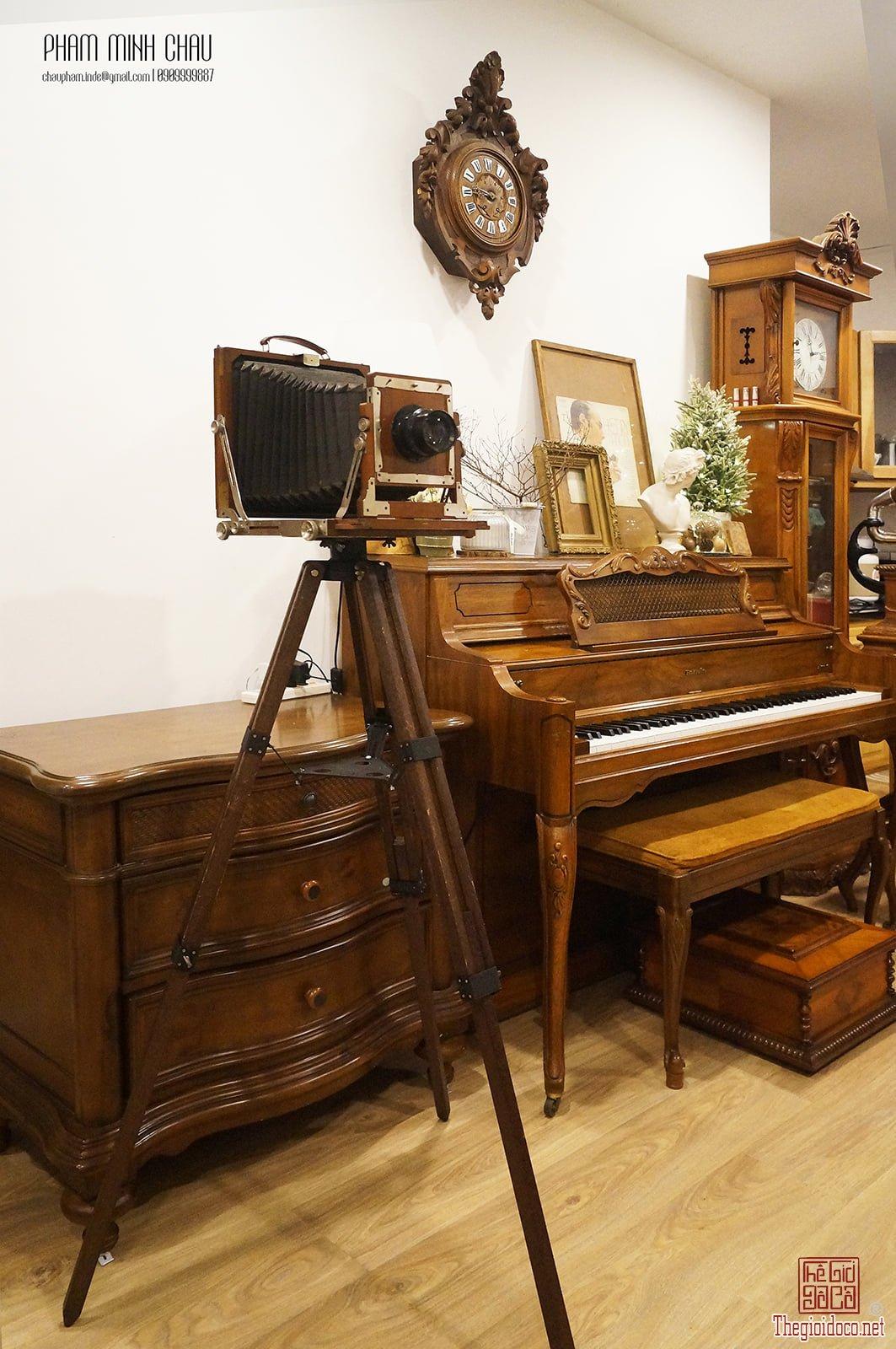 Máy ảnh gỗ cổ điển Asanuma King Field Camera