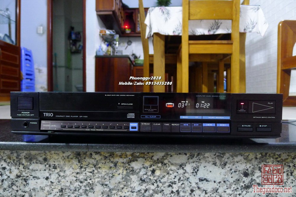 TRIO KENWOOD DP-1100
