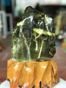 Cây đá để bàn ngọc serpentine...