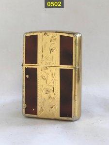 0502-gold plate( mạ vàng) khảm men