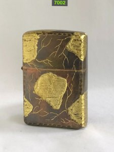7002-chữ xéo 1970-brass xả chrome