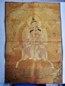 Tranh Phật màu vàng tuyệt đẹp...