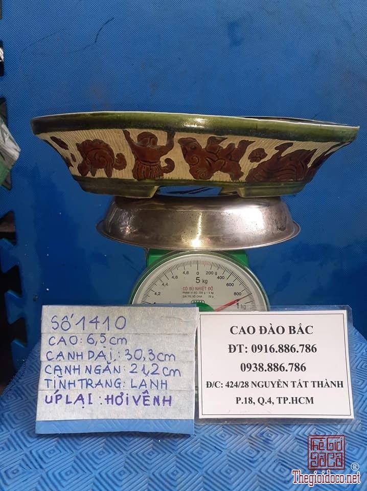 Châu  o van gốm  Biên Hòa -MS1410