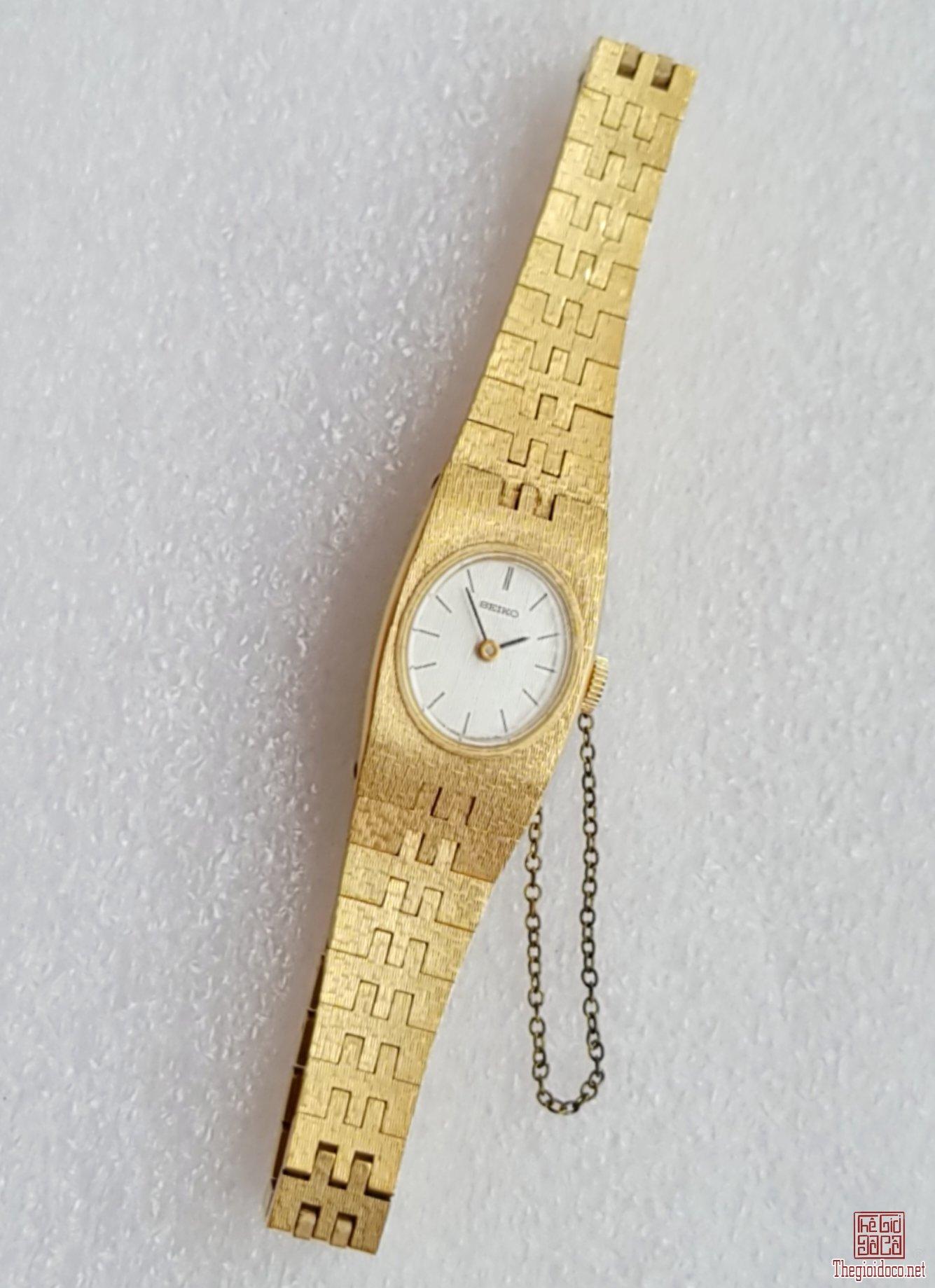 Đồng hồ nữ xưa lên dây SEIKO