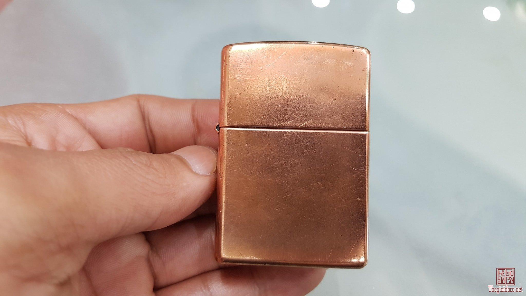 Zippo antique copper XIII