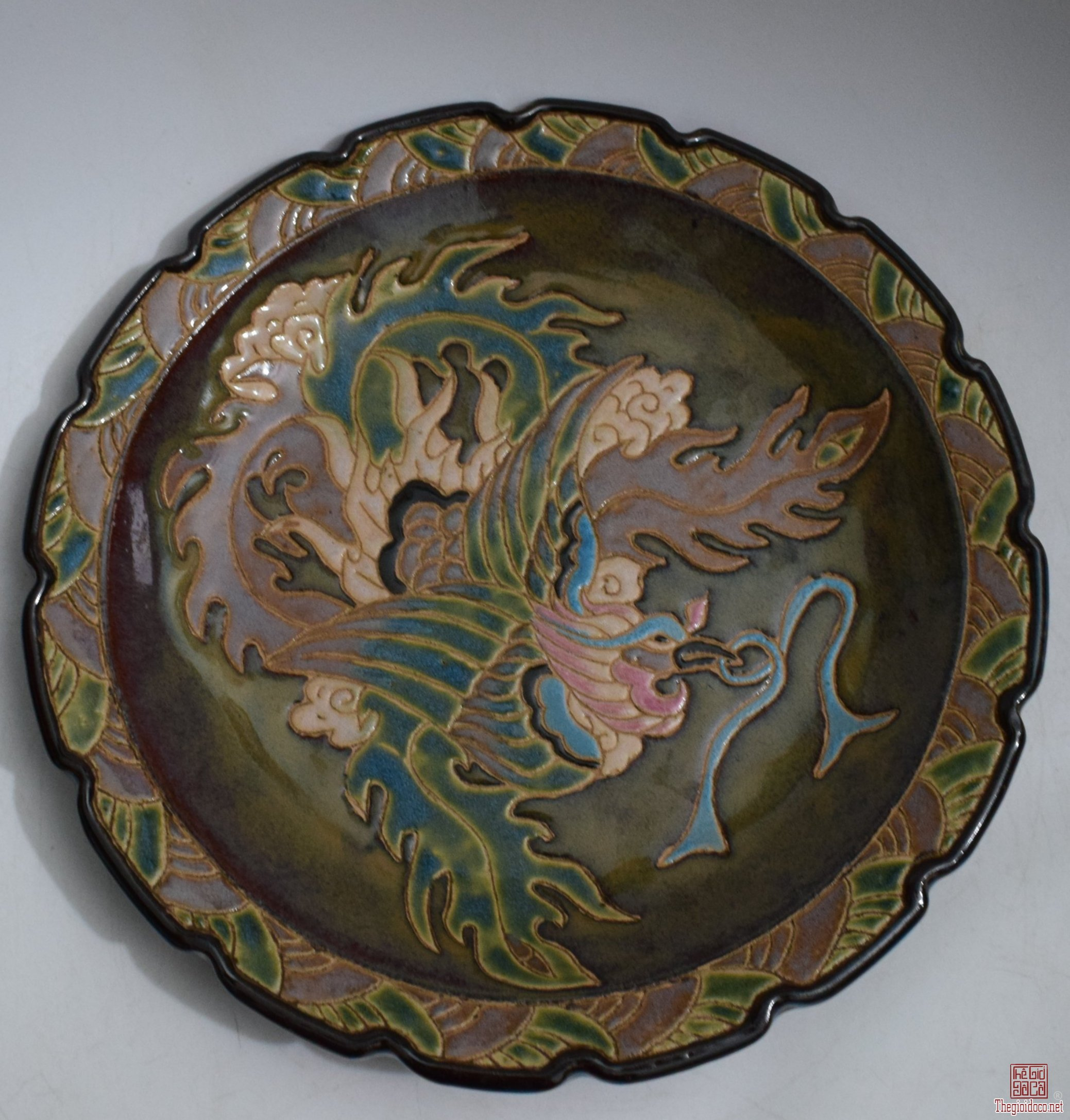 Đĩa xưa Biên Hòa