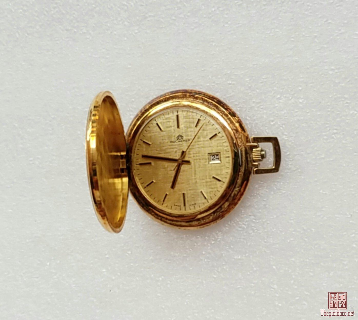 Đồng hồ Quýt xưa lên dây BUCHERER Thụy Sỹ