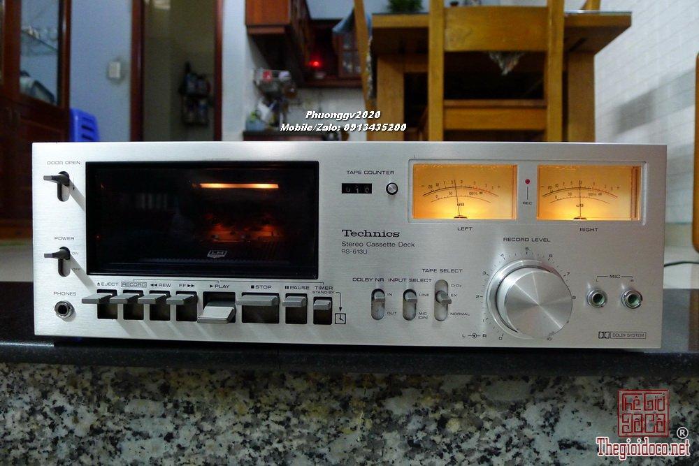 TECHNICS RS-613U - ☎️/Zalo: 0️⃣9️⃣1️⃣3️⃣4️⃣3️⃣5️⃣2️⃣0️⃣0️⃣
