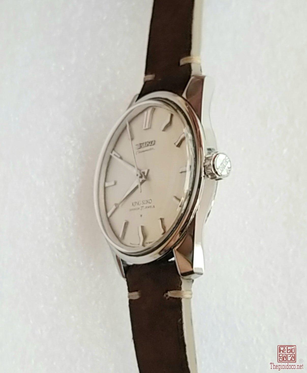 Đồng hồ xưa lên dây KING SEIKO CHRONOMETER